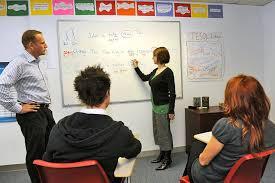 English class in usa