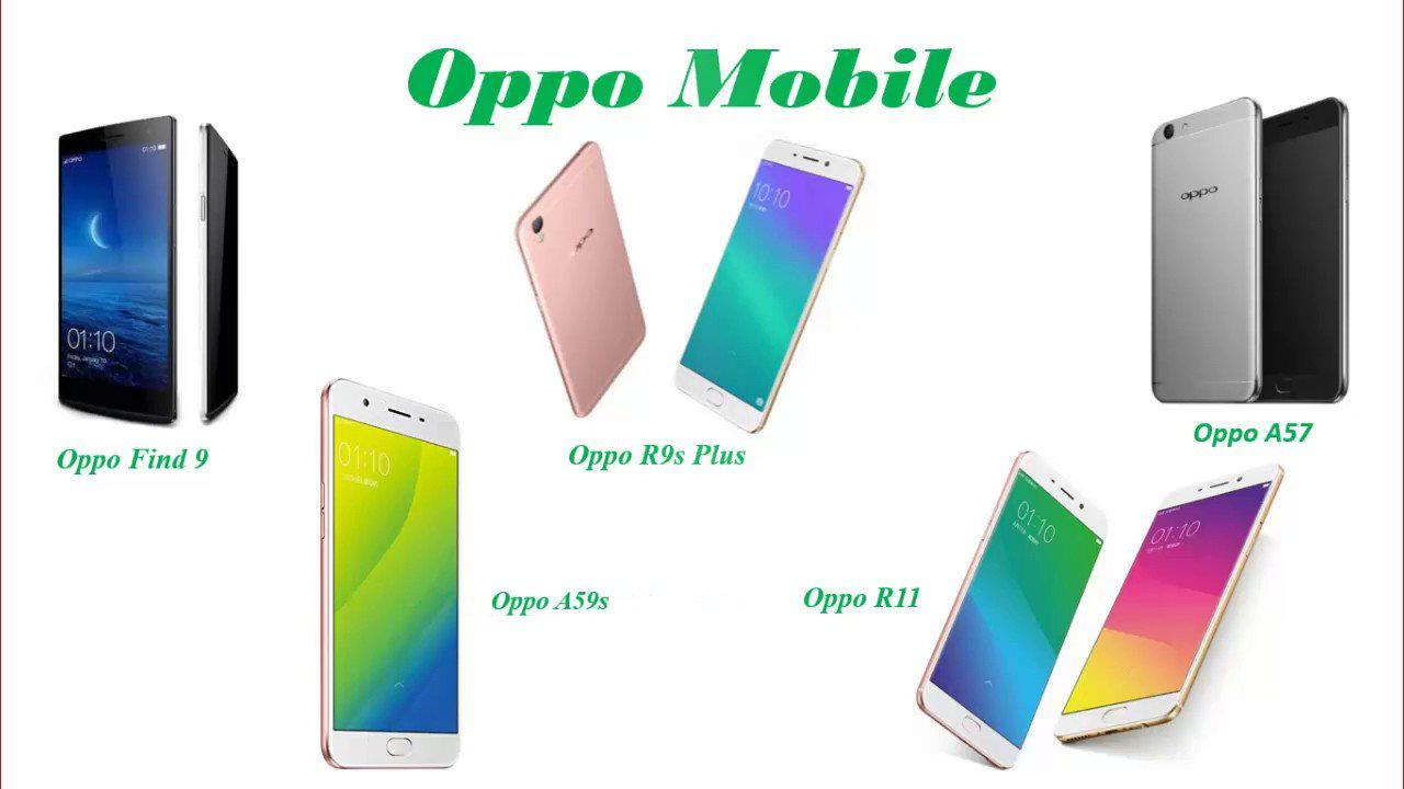 Upcoming oppo phones