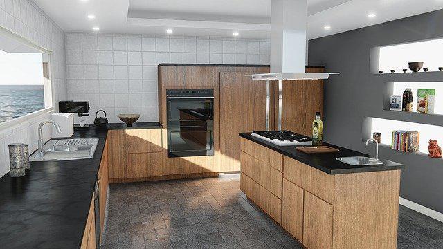 Kitchen Stove Clean