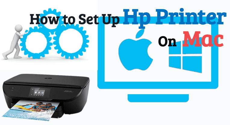how to setup hp printer On Mac
